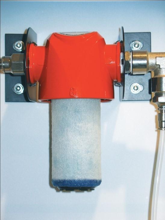 Elemento filtrante para filtro coalescente