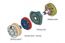 Peças para motor hidráulico